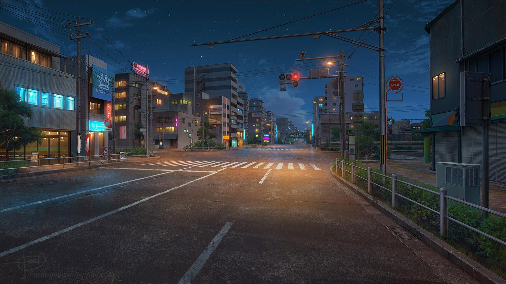 Download 660 Background Art Anime HD Gratis