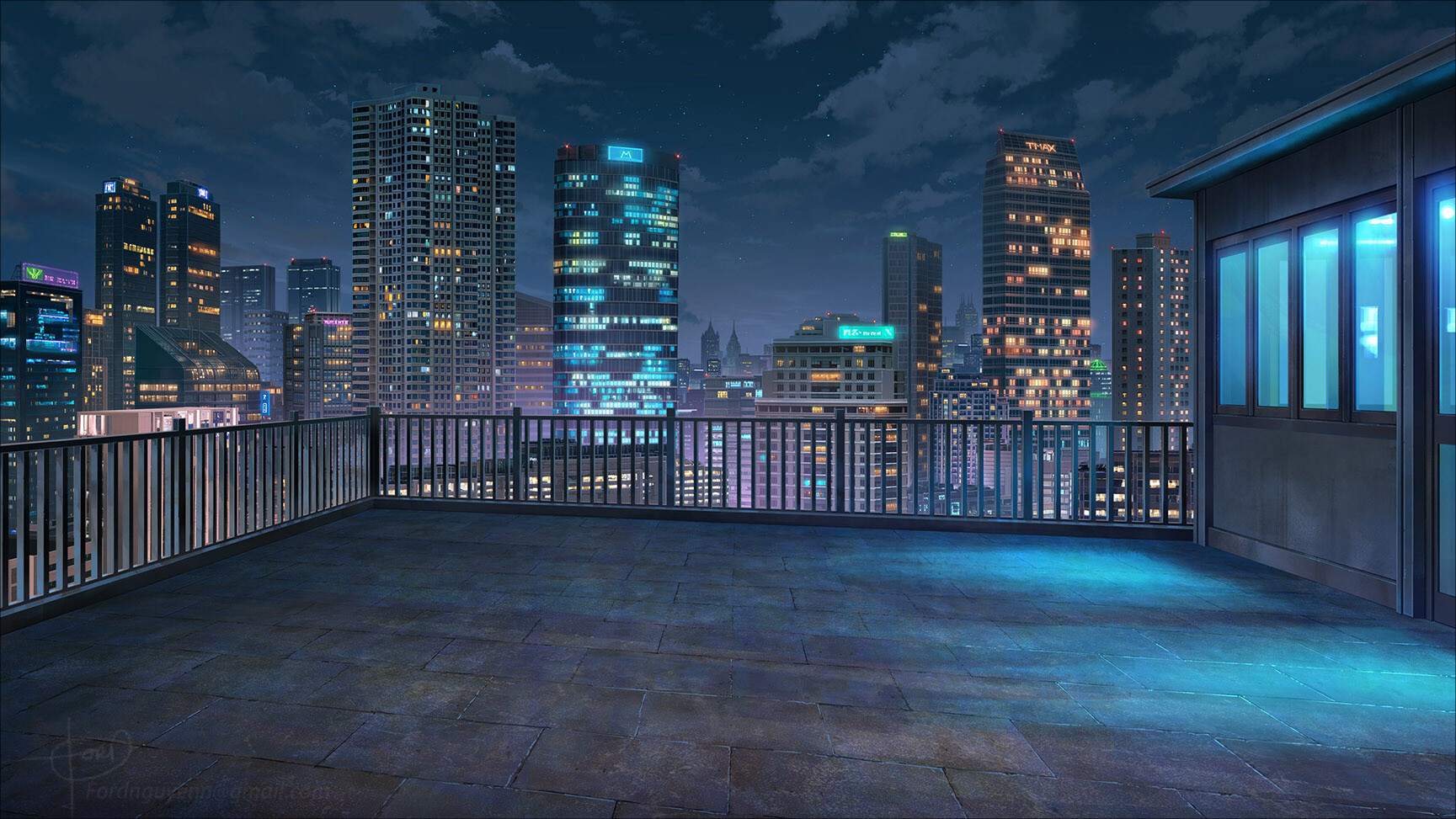 Unduh 570 Background Art For Anime Terbaik