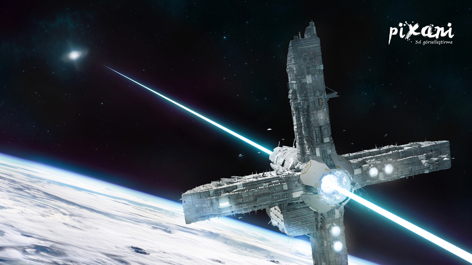 3D science fiction animation works