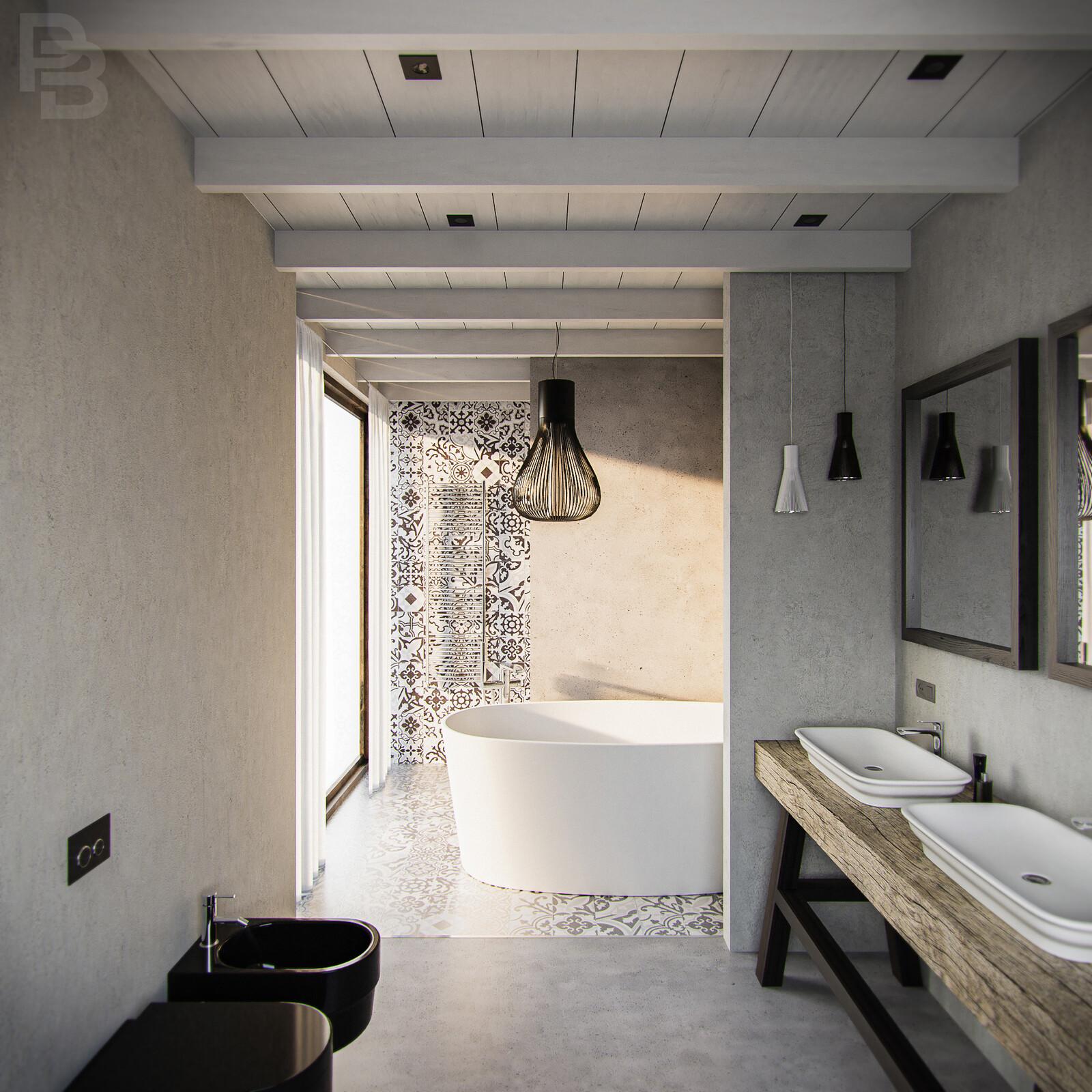 Hydraulic bath