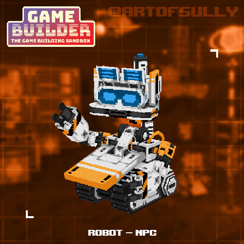 Robot - NPC (asset for 'Game Builder')