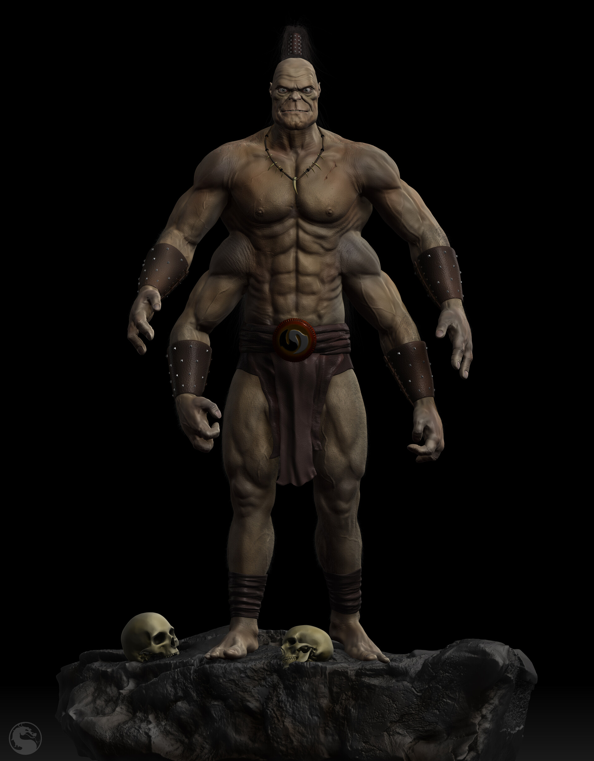 ArtStation - The Emperor Goro  (Mortal Kombat) , Konstantin
