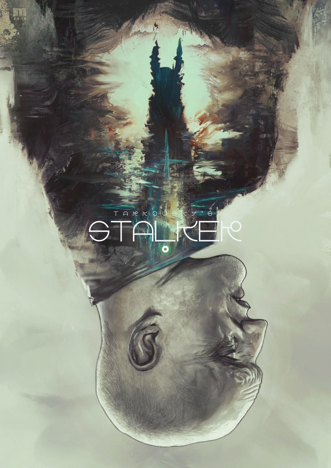 Tarkovsky's Stalker | Poster Experiment