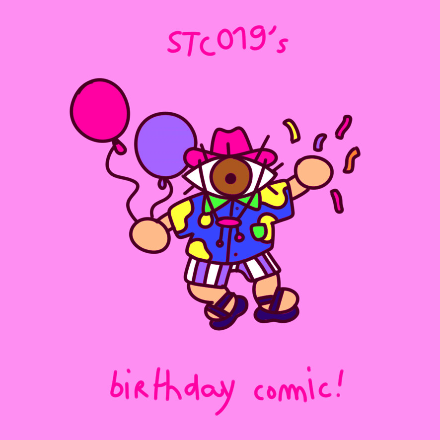 Scotty hervouet birthdaycomic