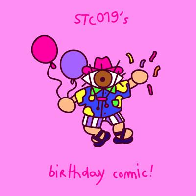 Scotty hervouet birthdaycomic