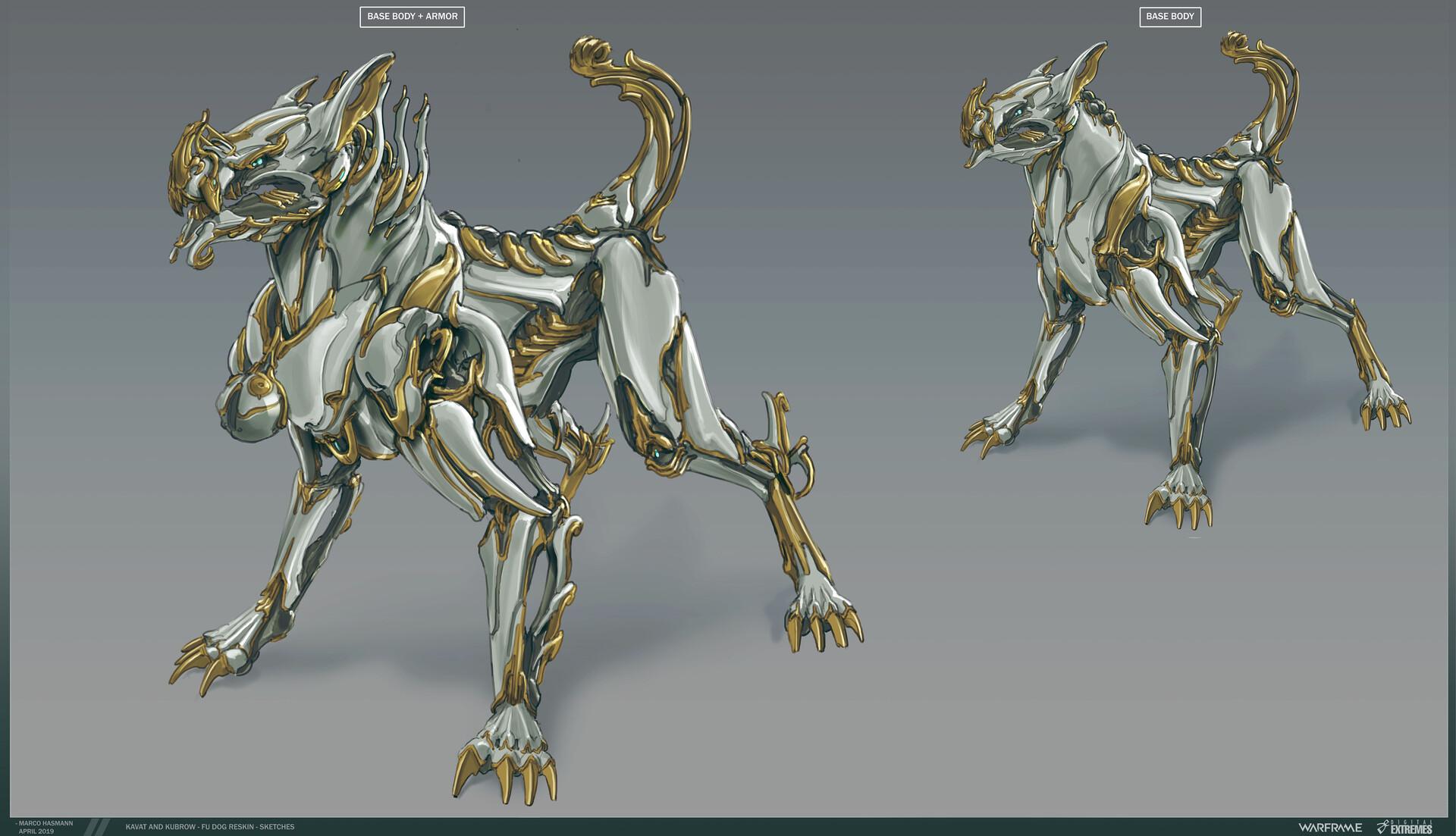Marco hasmann mh kubrow fu dog skin sketch3