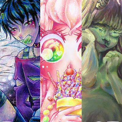 Nasika sakura balance art show selections