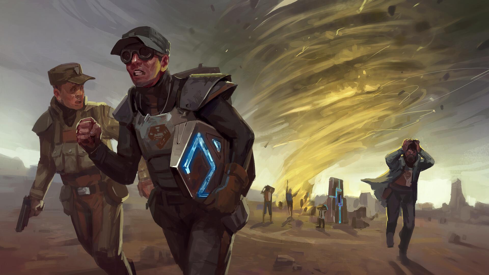 ArtStation - The Dome - Encased RPG, Dark Crystal Games