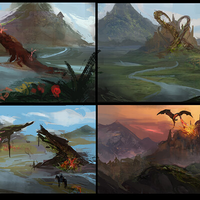 Temarius walker fantasy thumbnails revised 03
