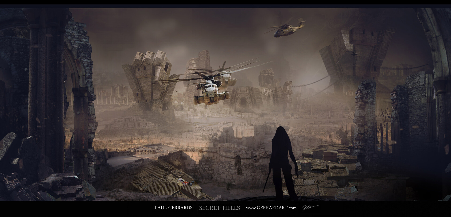 Paul gerrard relic city 01
