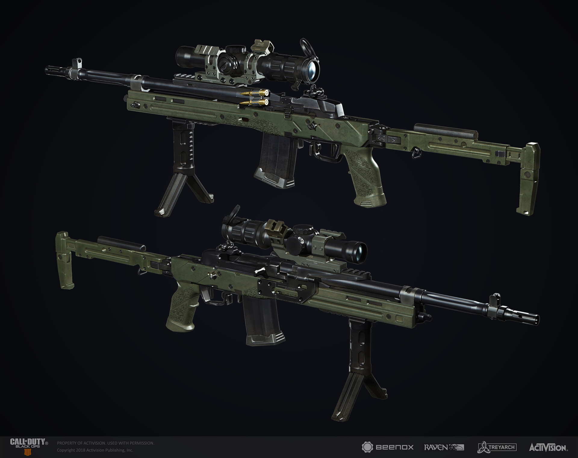 Artstation Call Of Duty Black Ops 4 Weapon Concept Vendetta