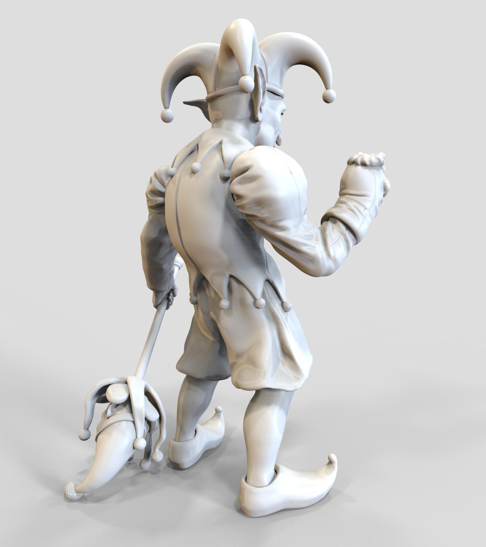 Andre de souza goblin jester 7