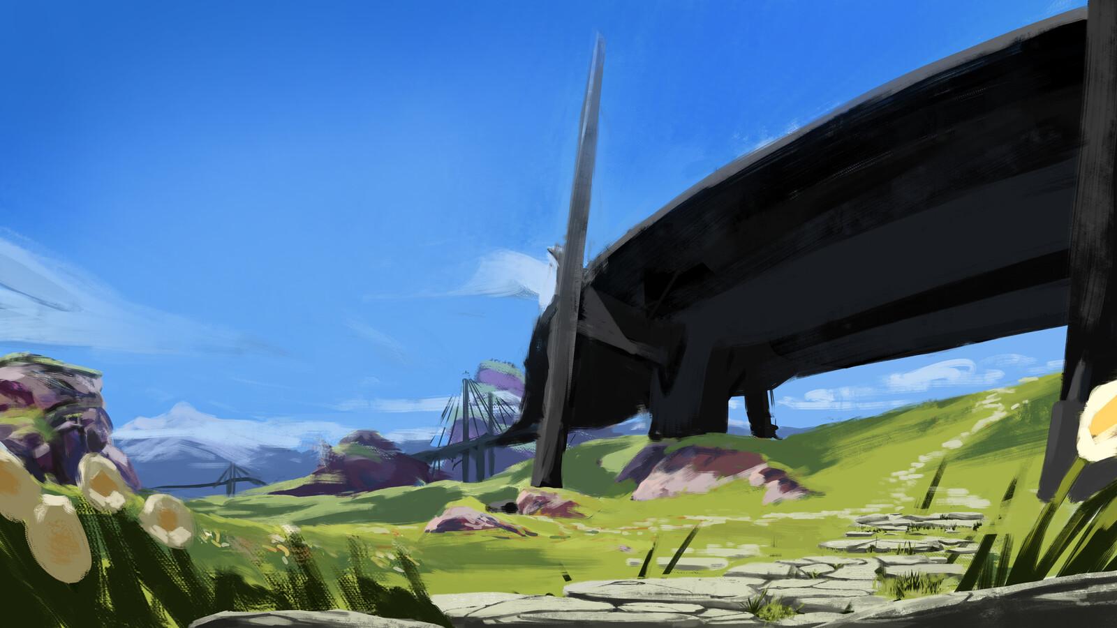 Base painting