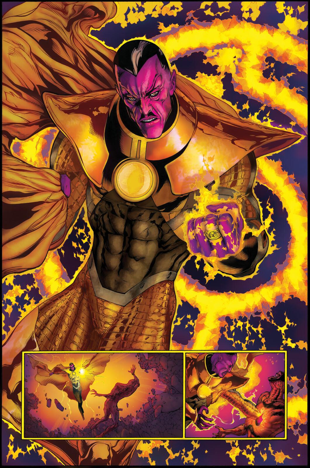 Sinestro / Parallax - Colors