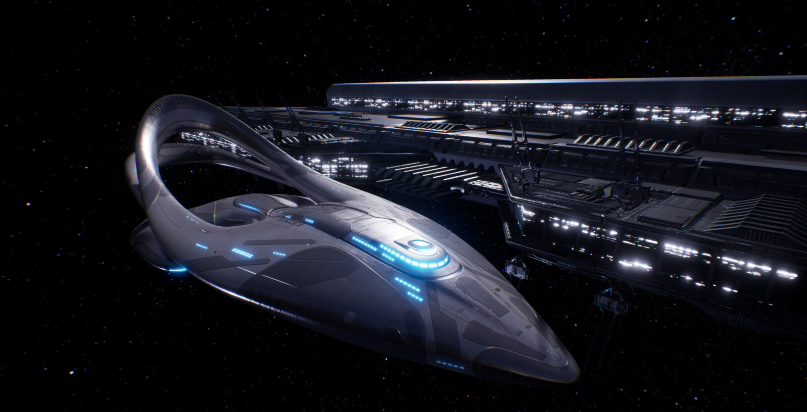 The Orville Union Space Station
