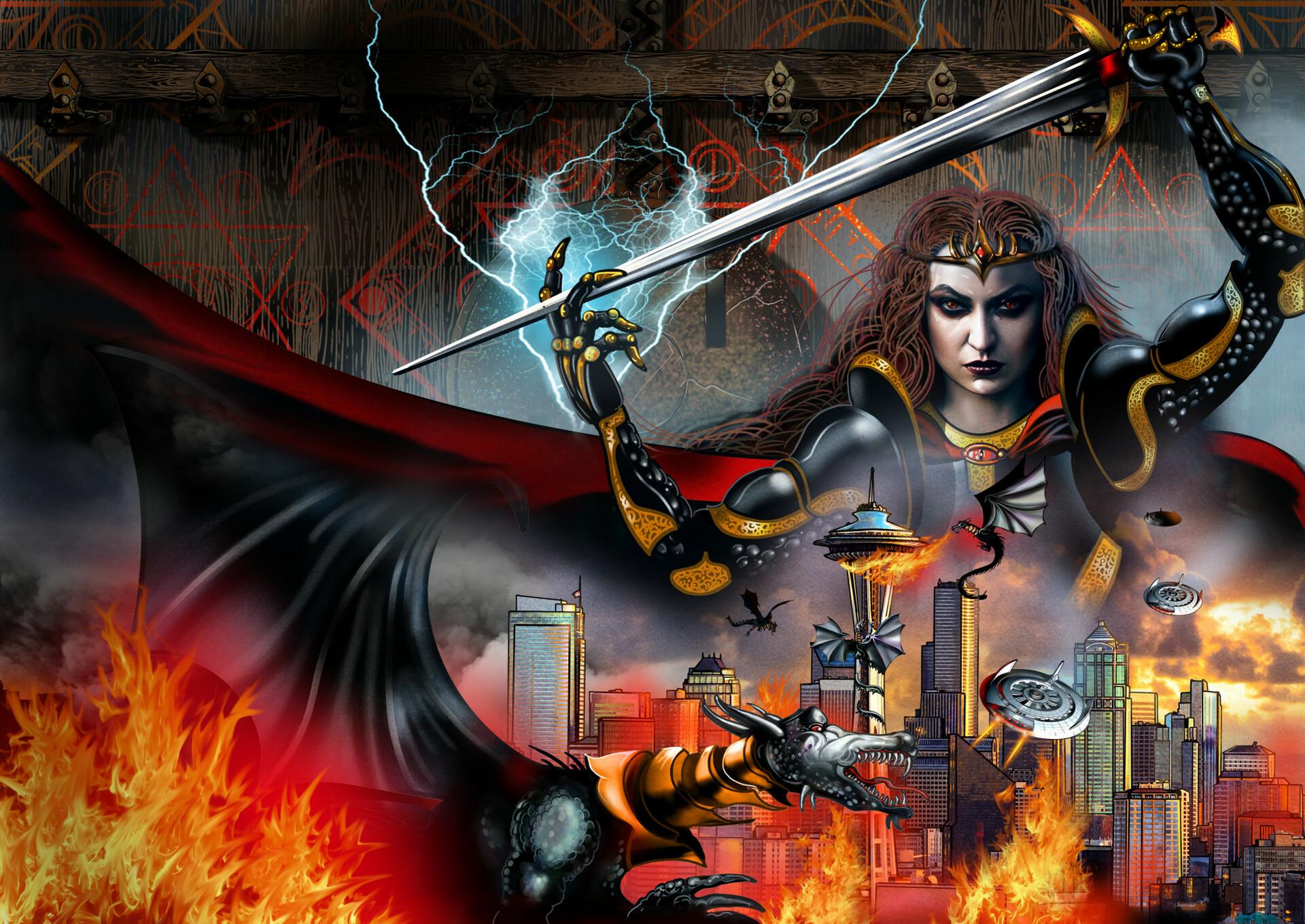 Jon gerung ya book fantasy cover