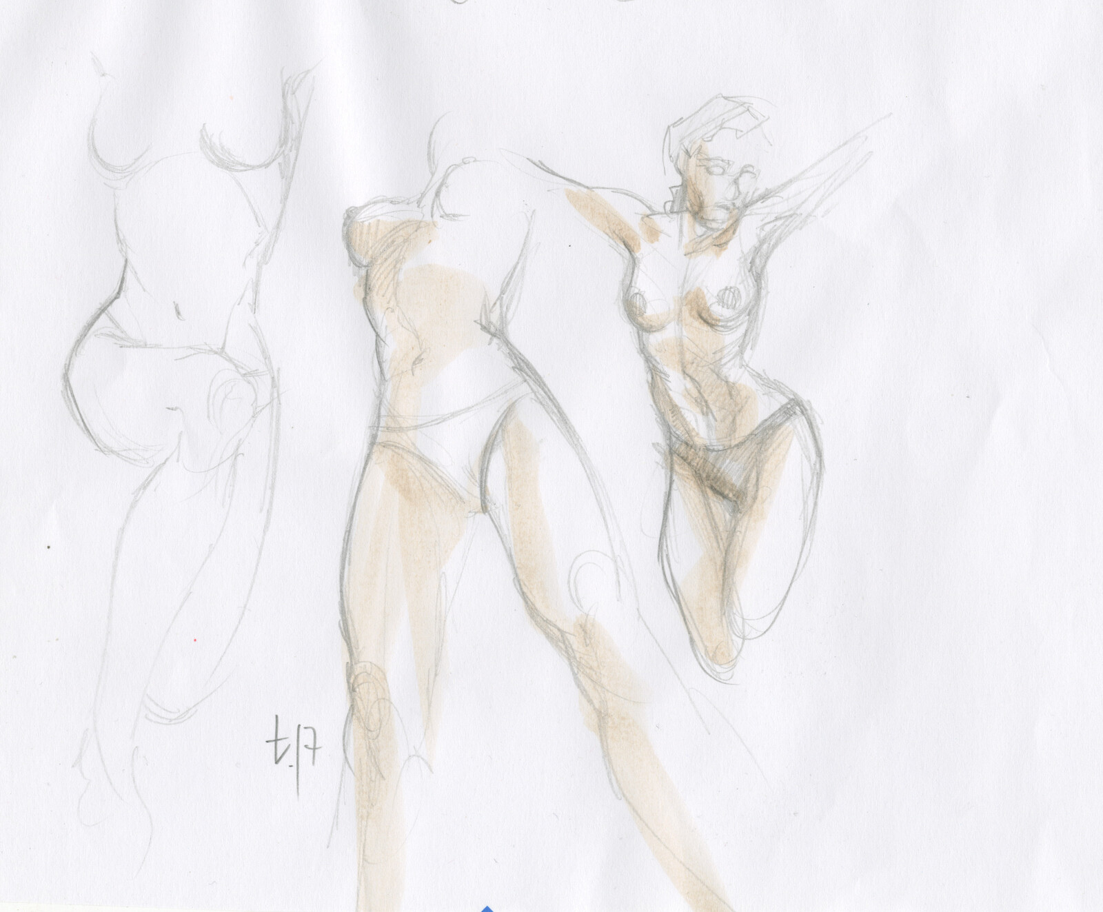 live drawing poses