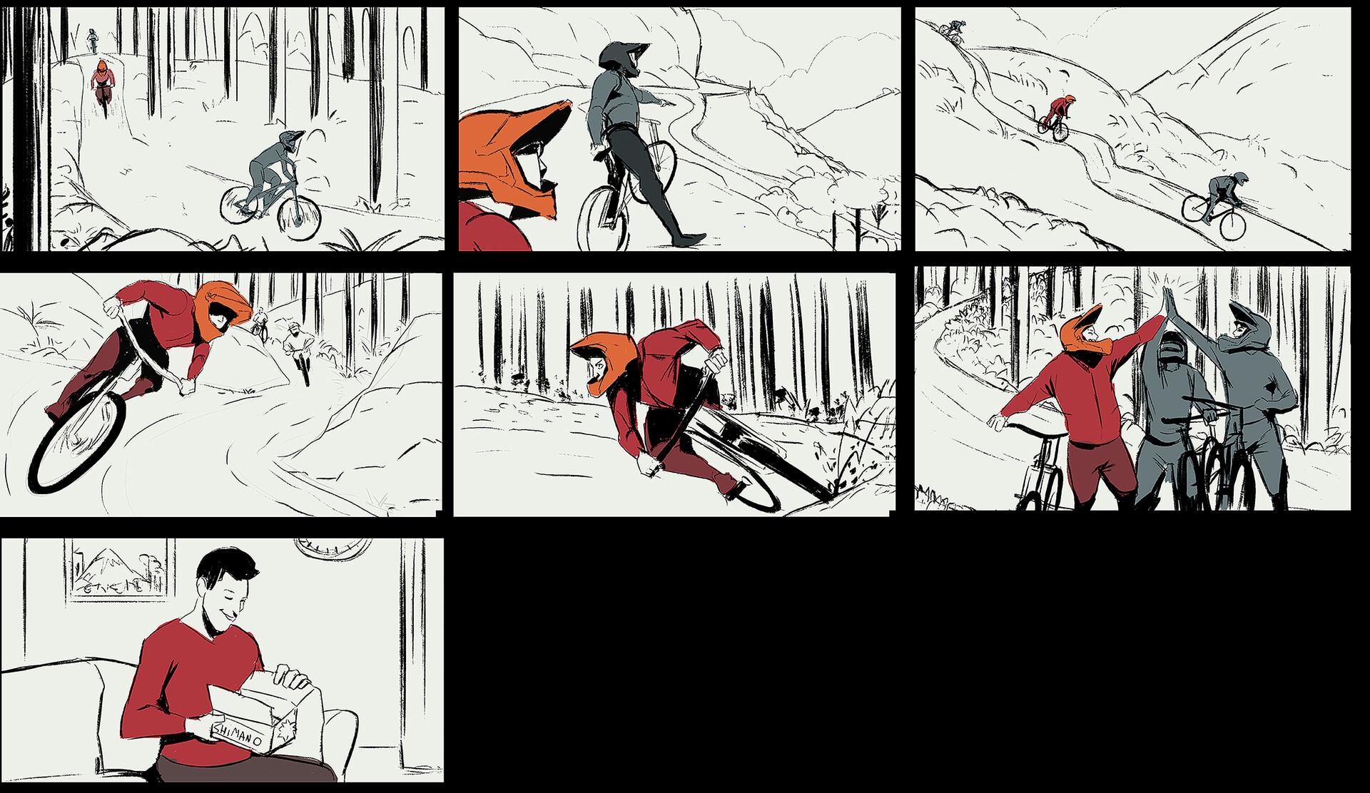 Peter klijn shimano comic 2