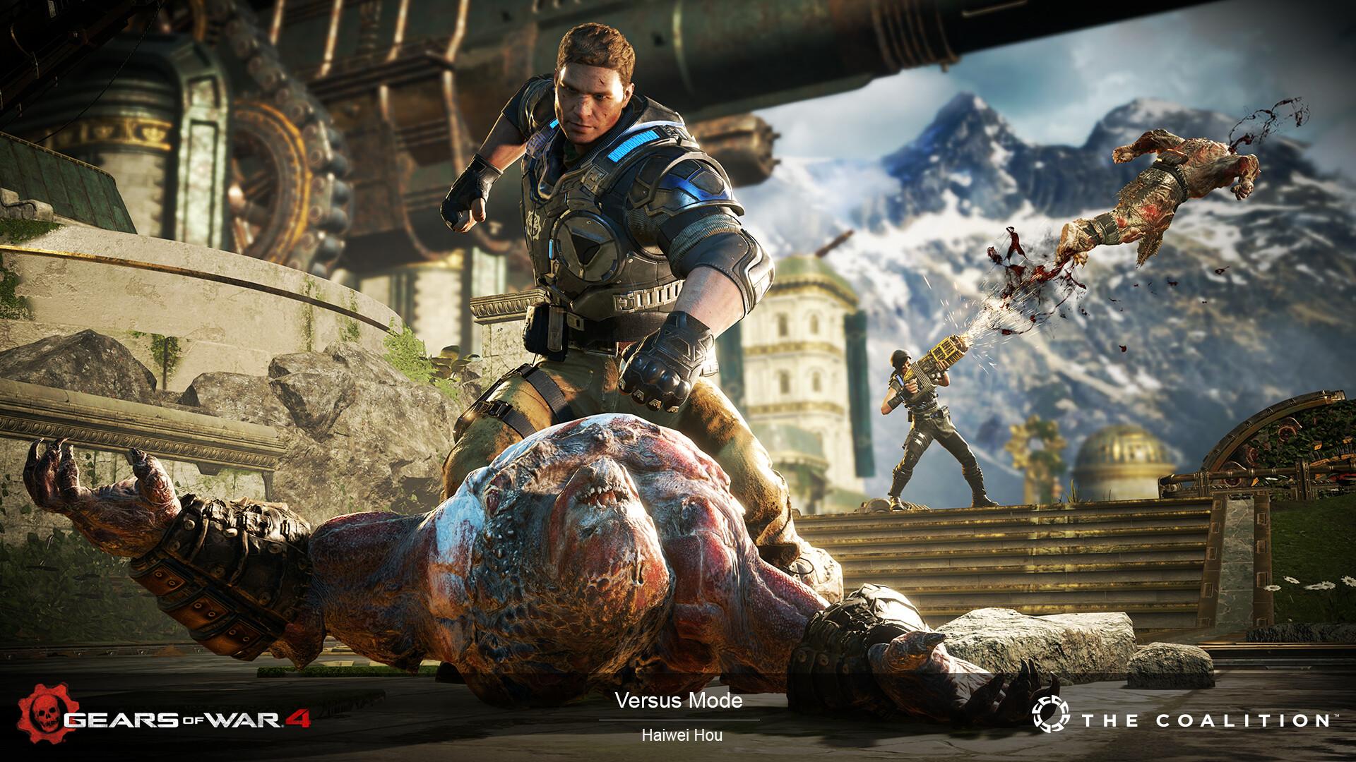 ArtStation - Gears of War Marketing art, DOOMWOOD Digital Media