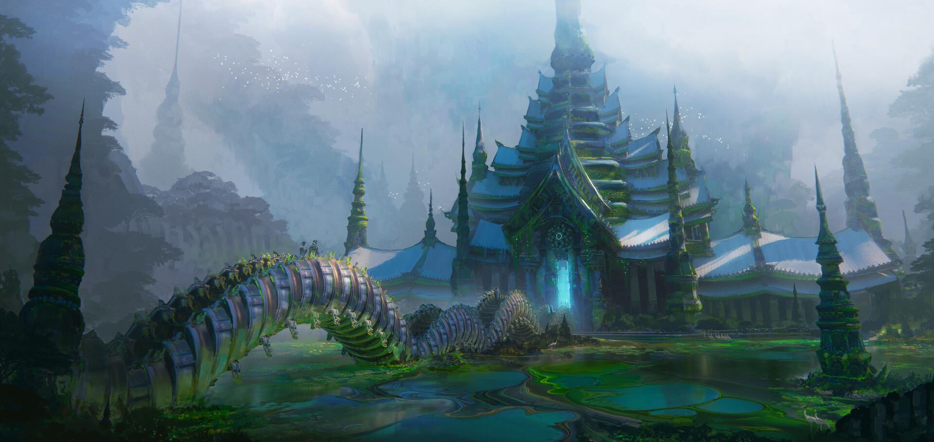 Leon tukker thai temple highresas