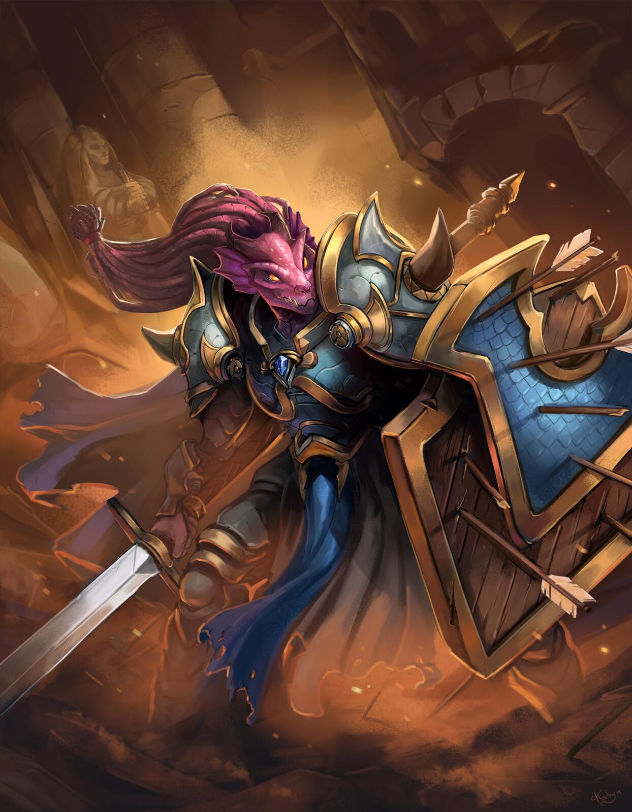 Dragonborn Warden