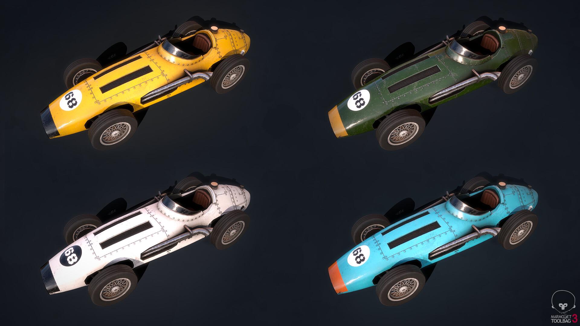 Ivan batalla color variations