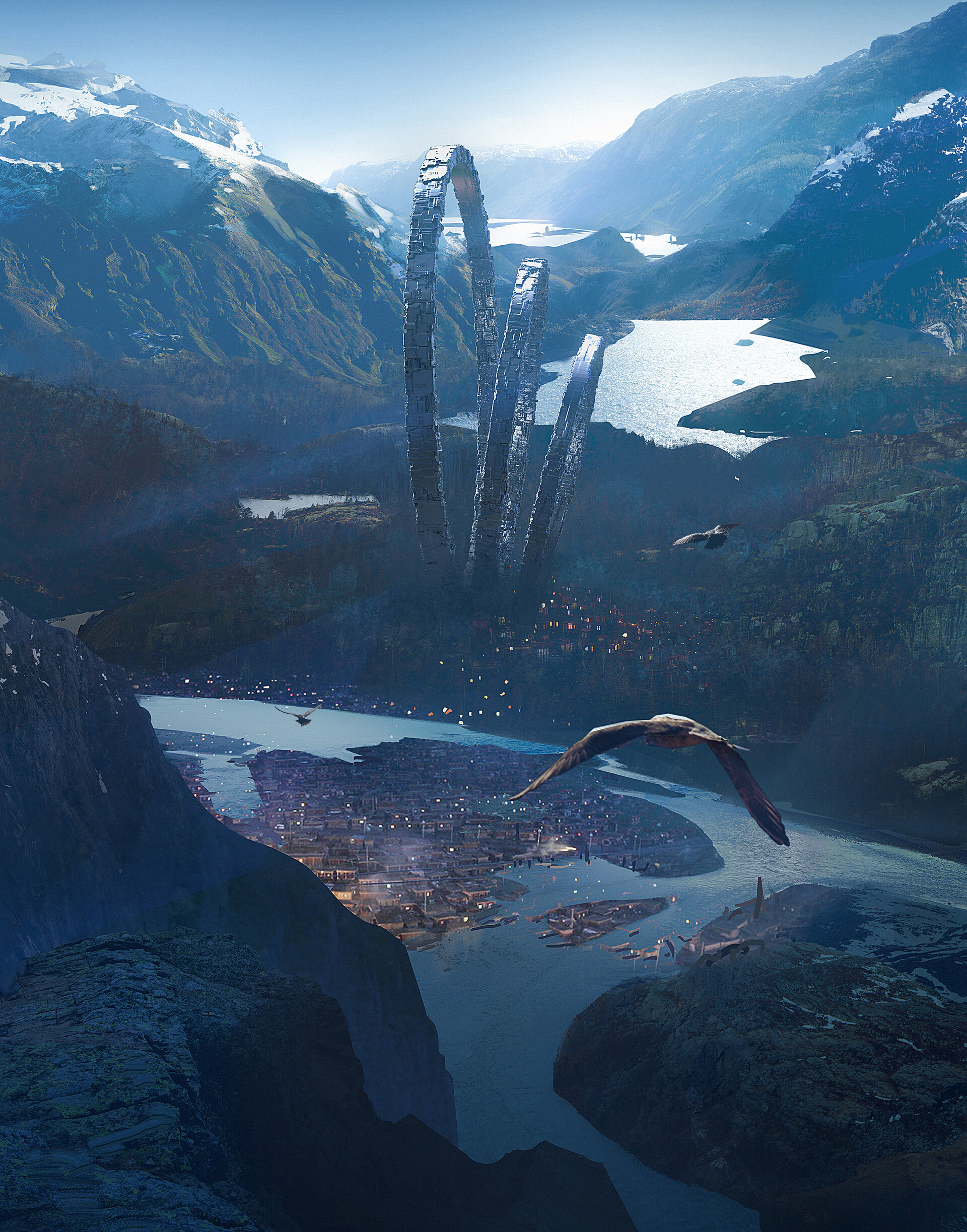 Liang mark matte painting1