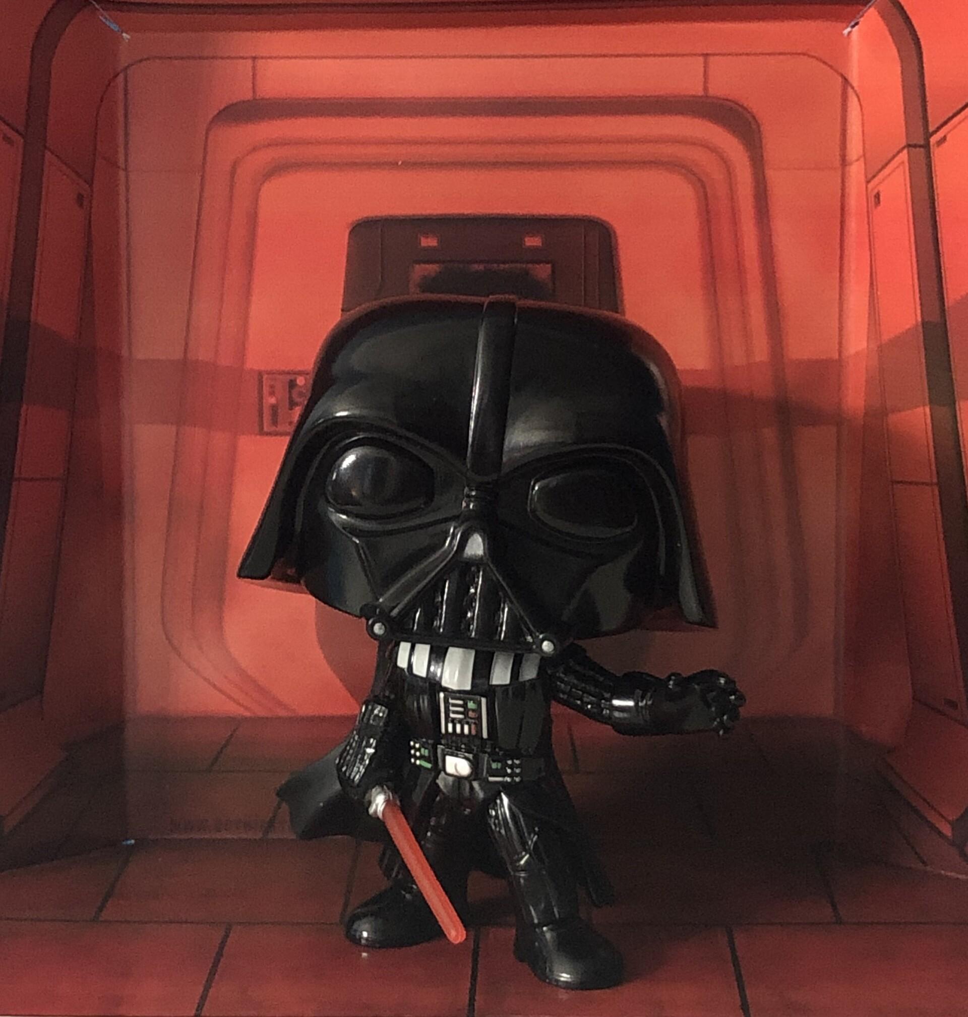 Artstation Rogue One Darth Vader Star Wars Funko Pop Backdrop Em Kuker