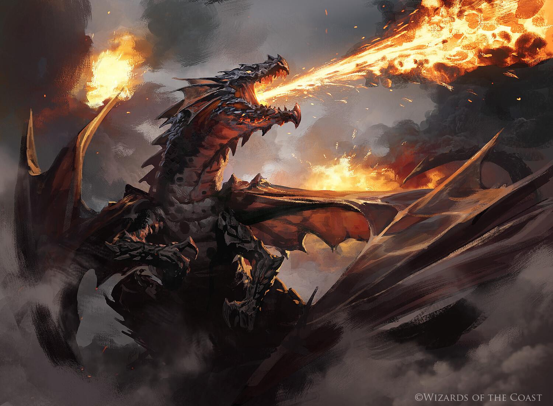 Greg rutkowski drakuseth maw of flames 1500