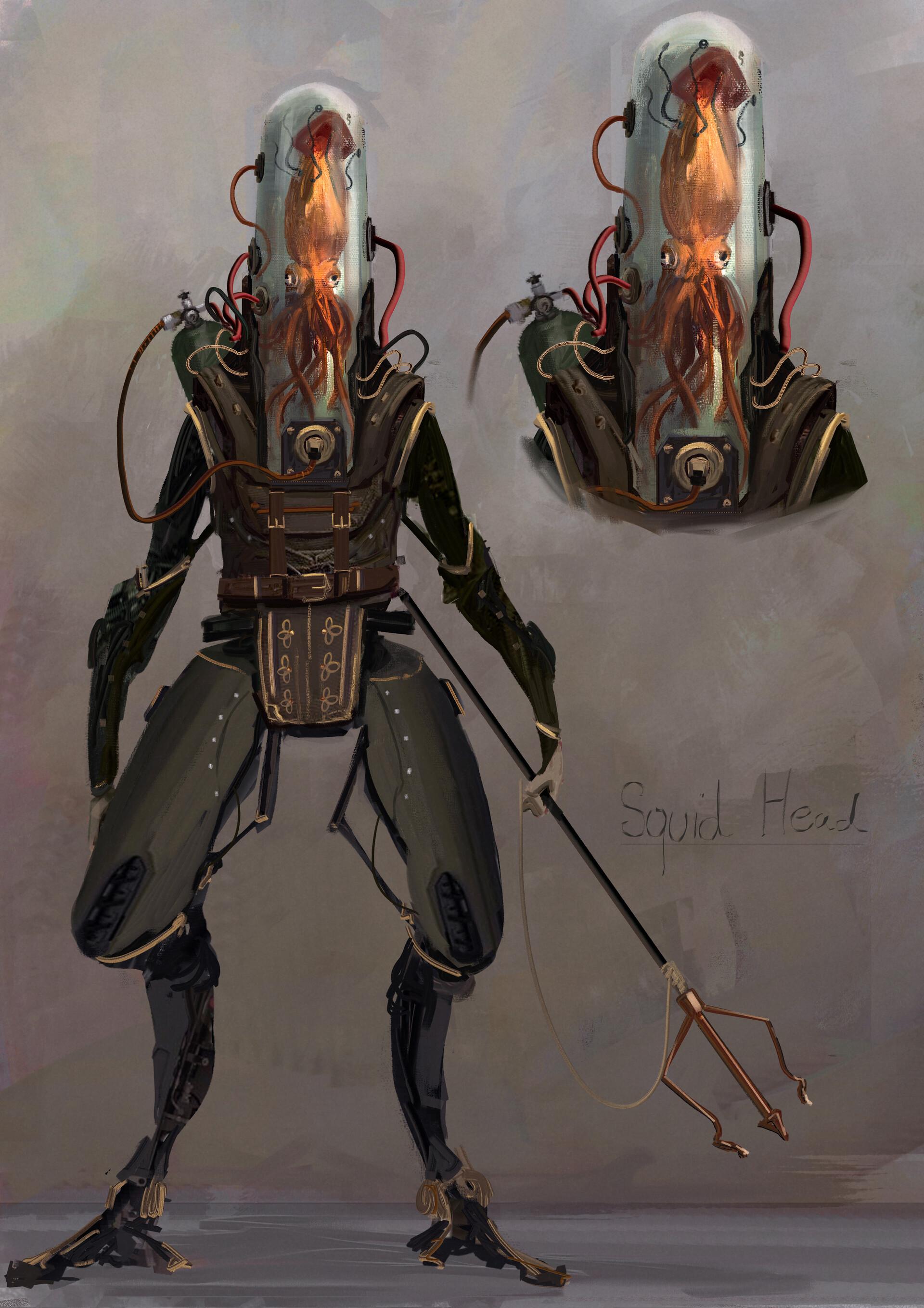 Jack dowell squid hex
