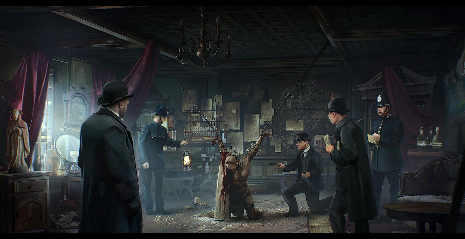 Occult Crime scene investigation