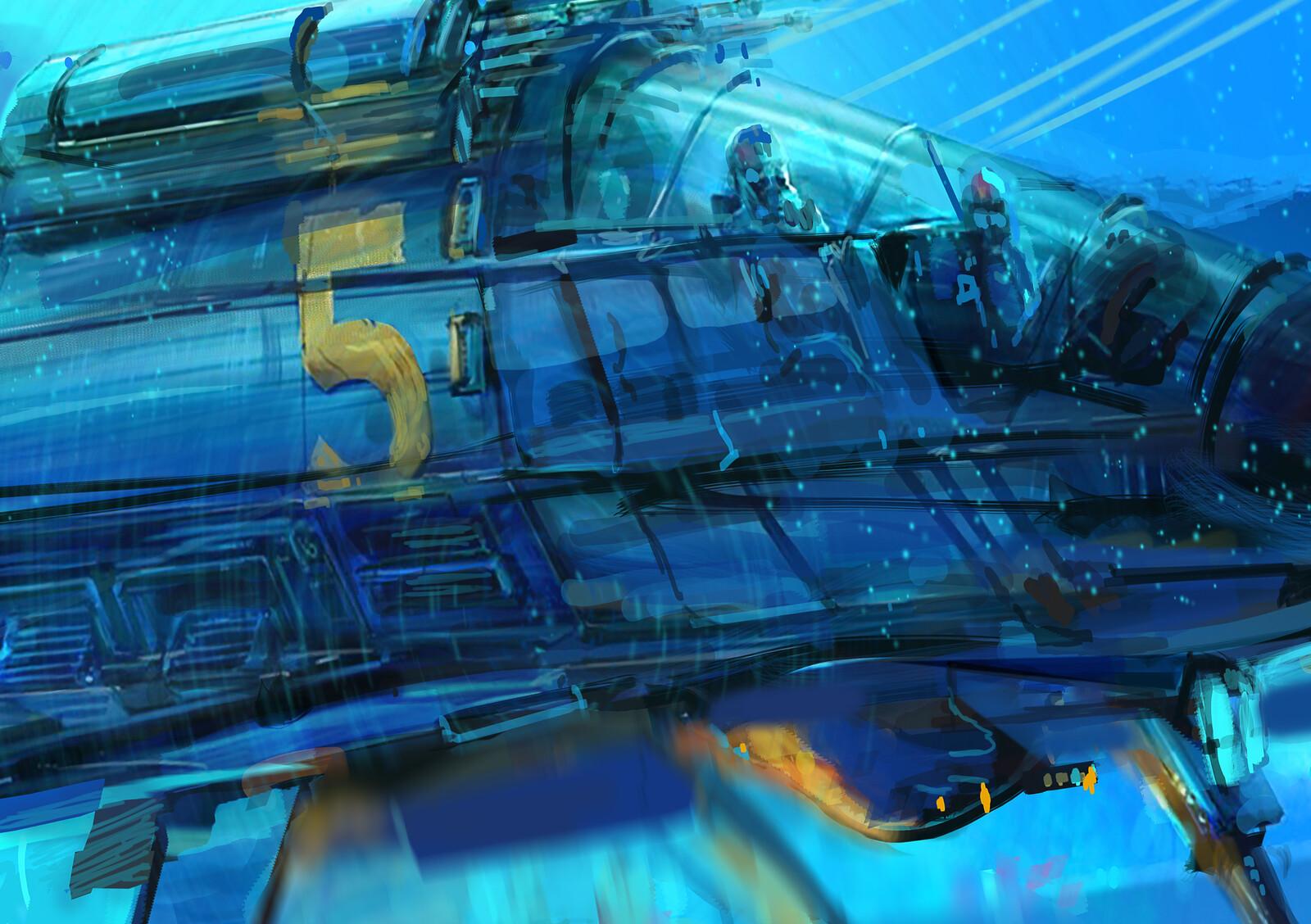 Soviet Testing. New Hover Ship.