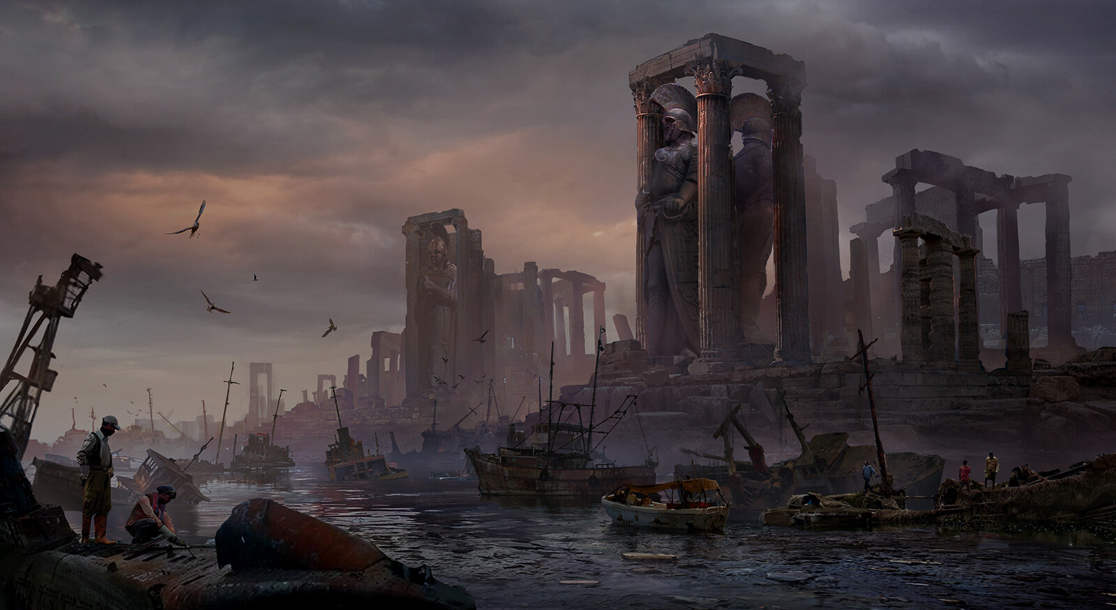 Alex ichim ancient harbour