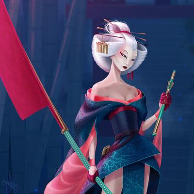 Christina kozlova geisha assassin