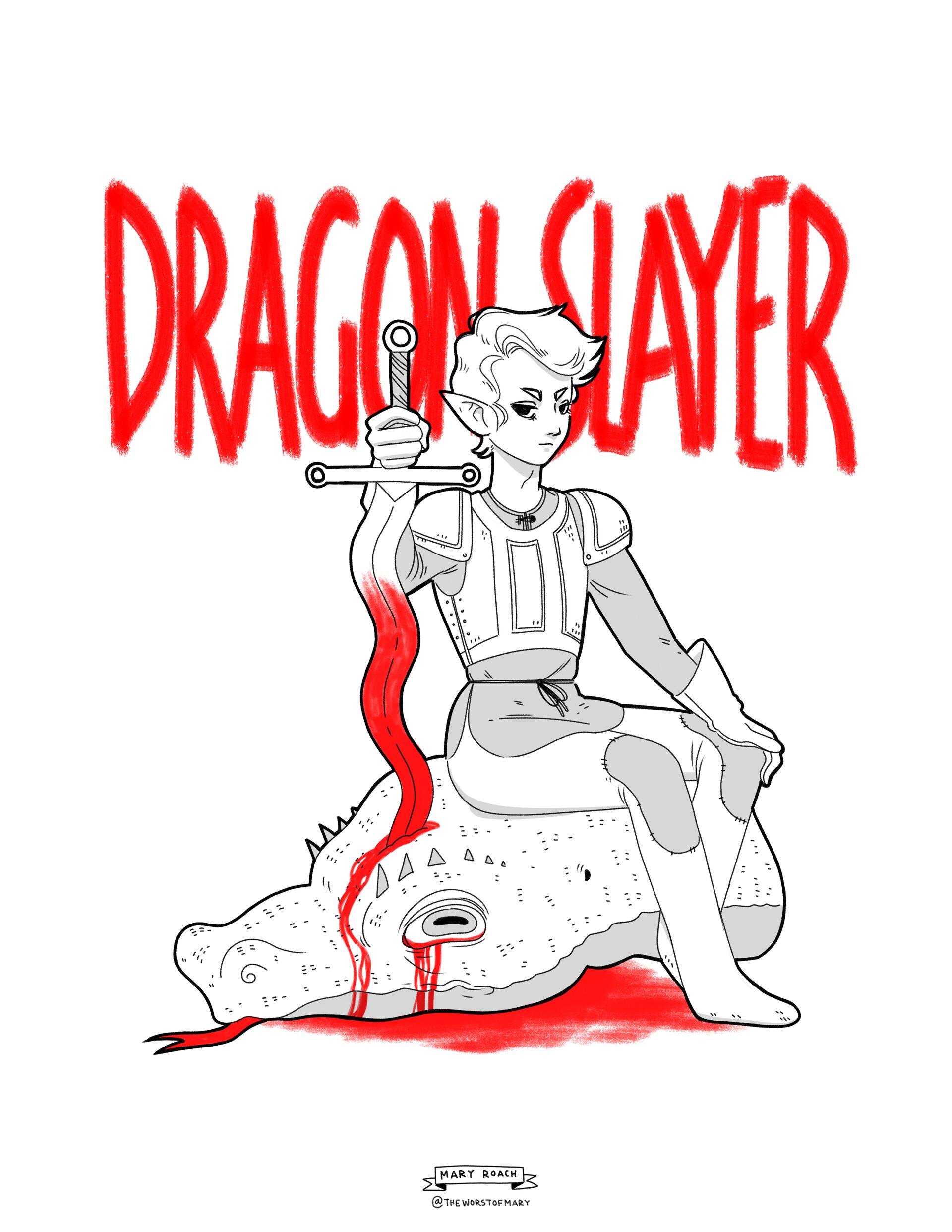 Mary roach dragonslayer2