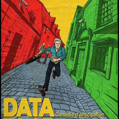 Ronald bousseau dataface affiche rvb ronaldbousseau web