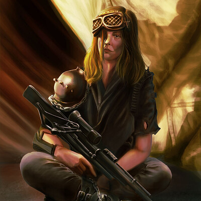 Angelika kruczek apocalyptic woman sm podpis color