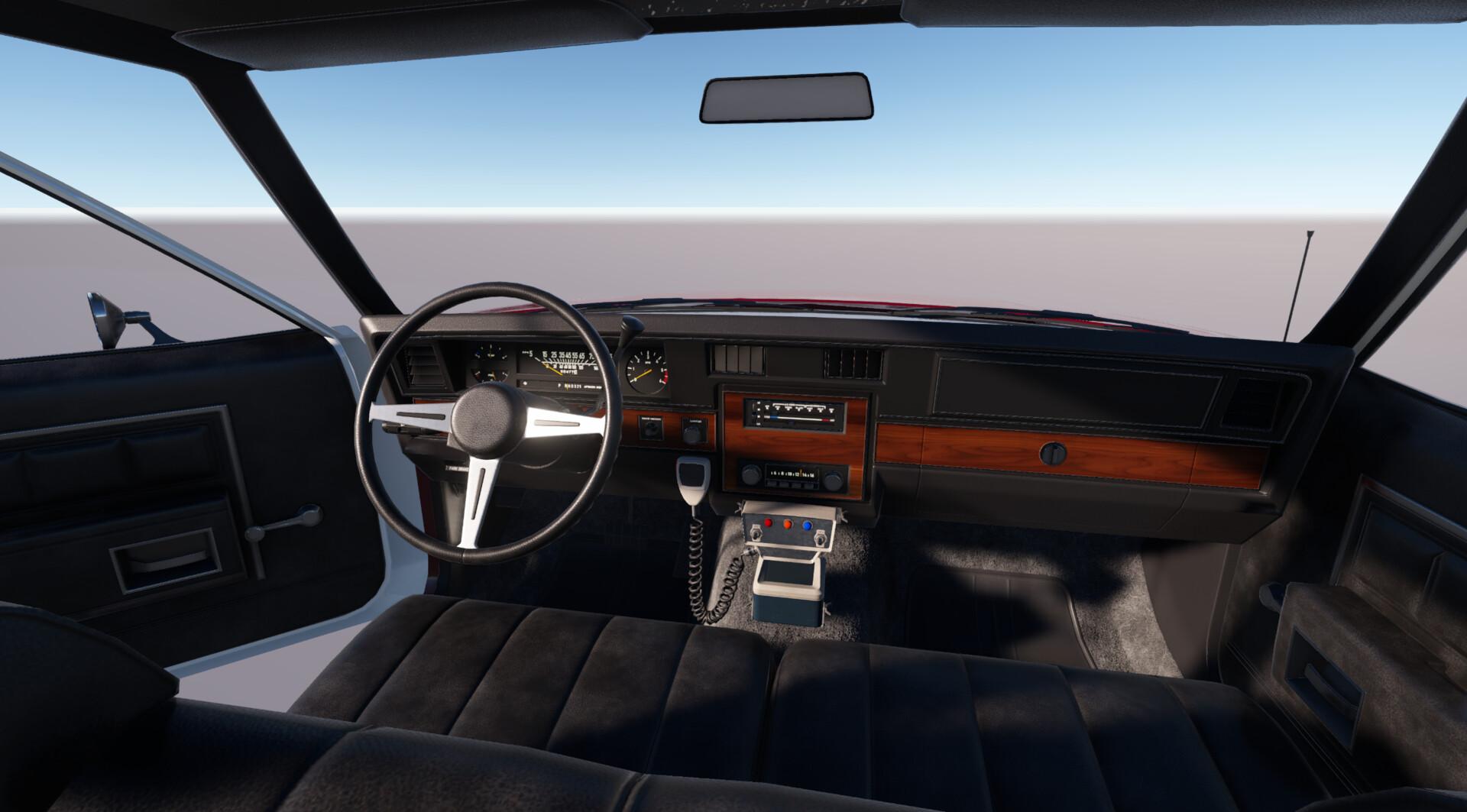 ArtStation - Police Car - Fargo Tribute, PADDINGSONS Outsourcing