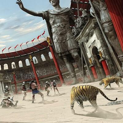 Panjoool gladiator battle arena by panjoool dc5xuaz fullview