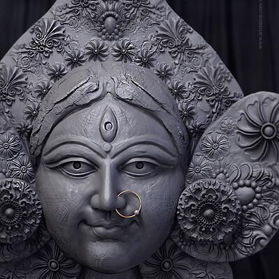 Surajit sen mrinmoyee digital sculpture surajitsen july2019
