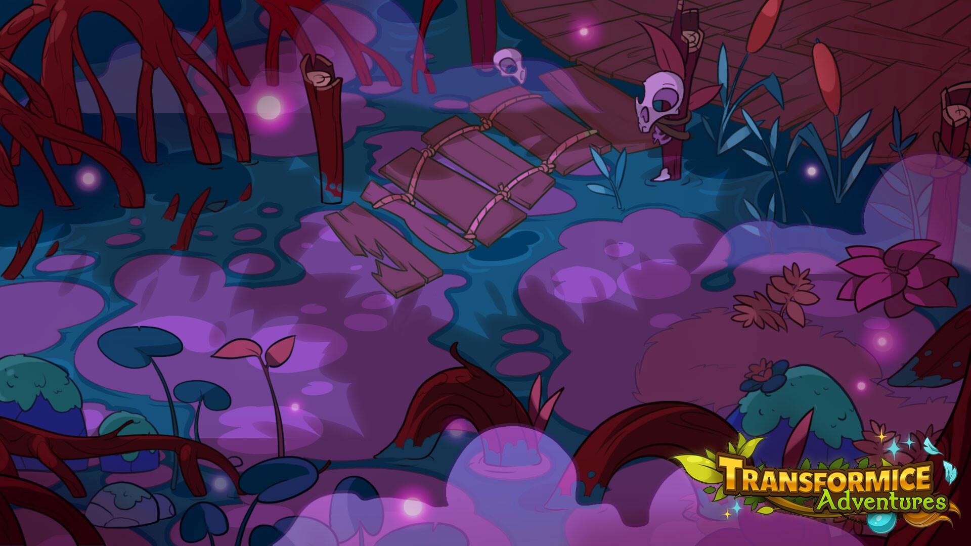 Recherche zone de Marecage pour Transformice Adventures