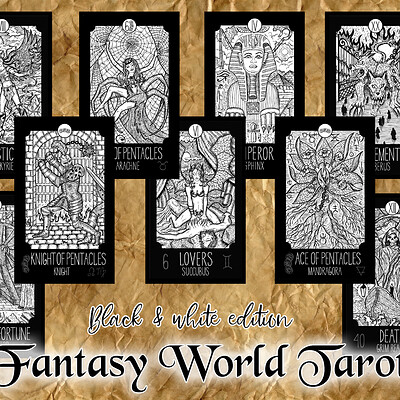 Vera petruk samiramay fantasy world blackwhite1