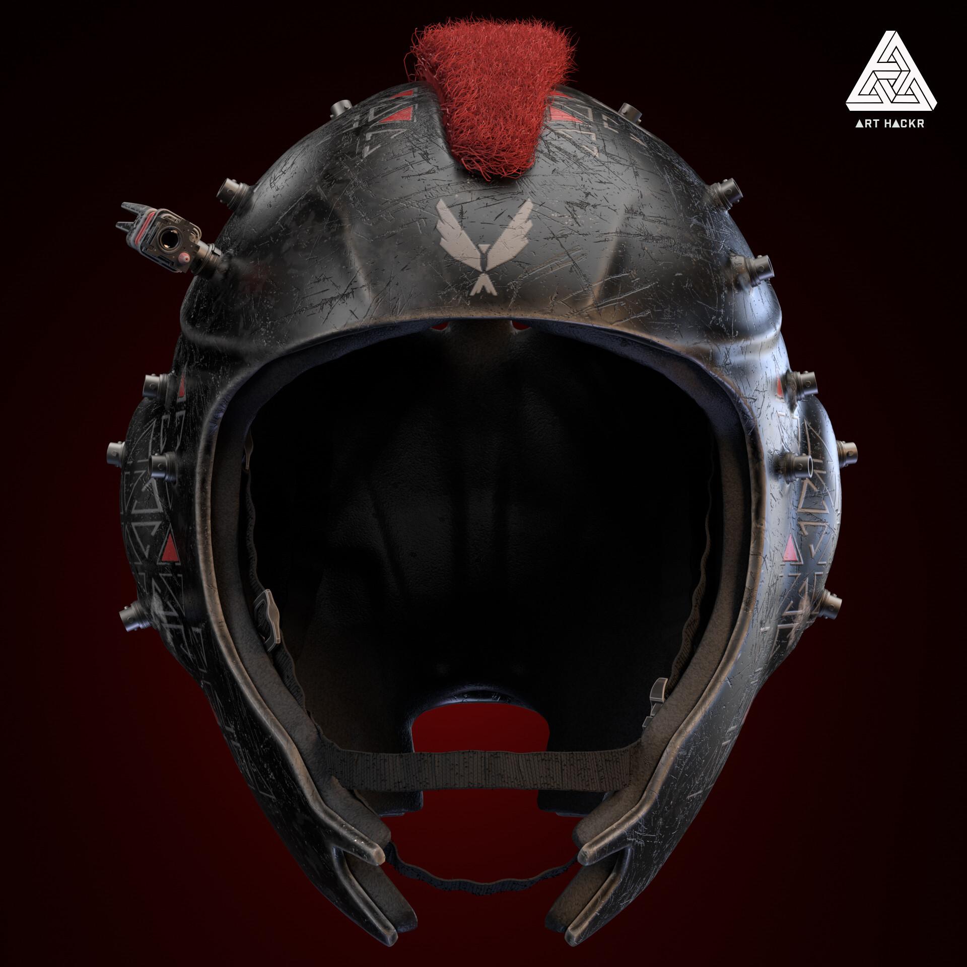 Rob walters front tactical helmet nohex