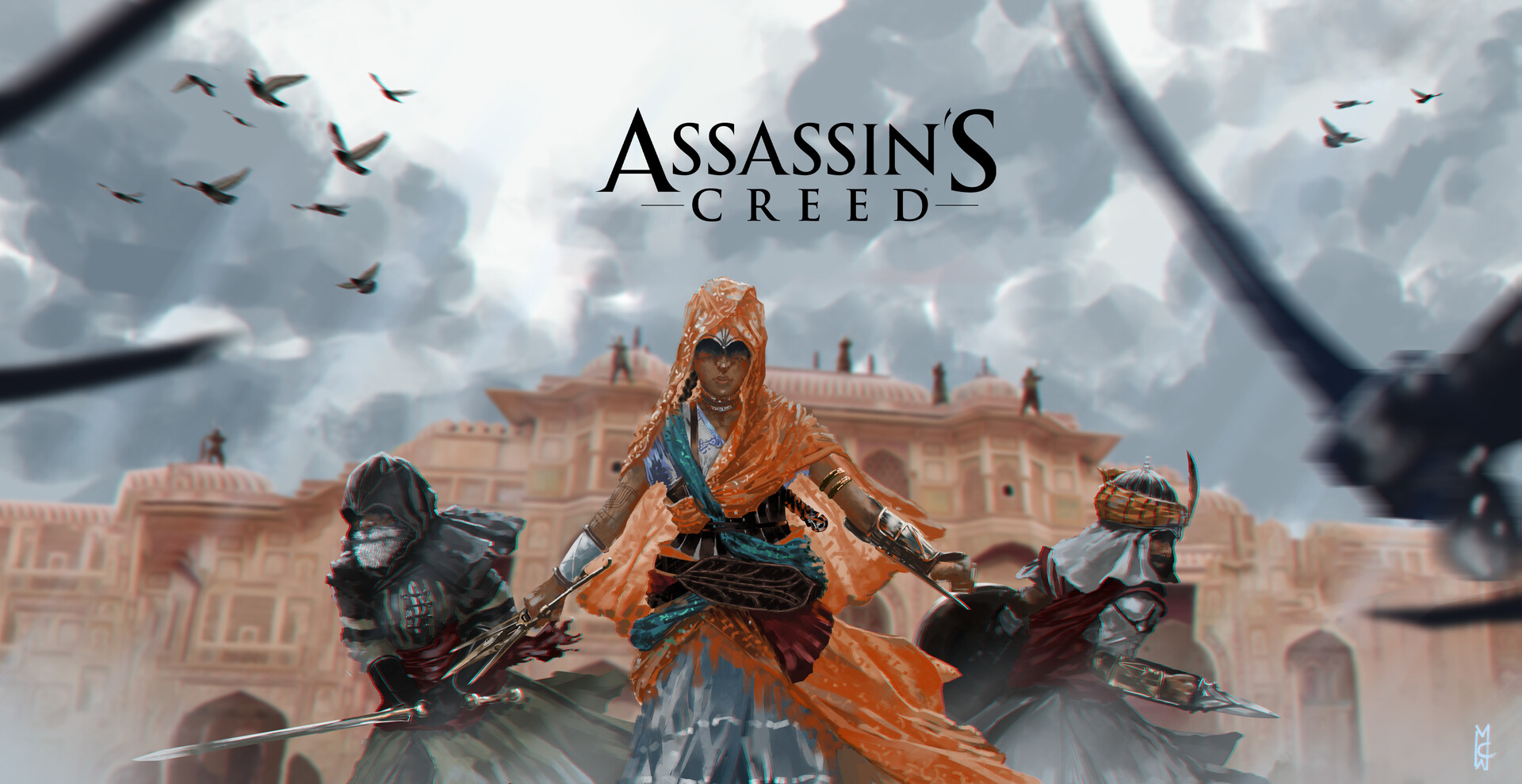 Artstation Assassin S Creed India Fan Art Martin Calderon