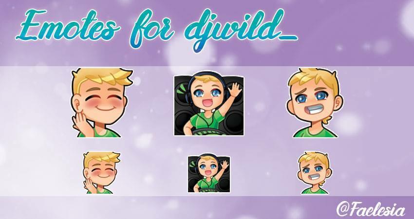 chelsea aguiar - Custom Twitch Emotes! STILL OPEN