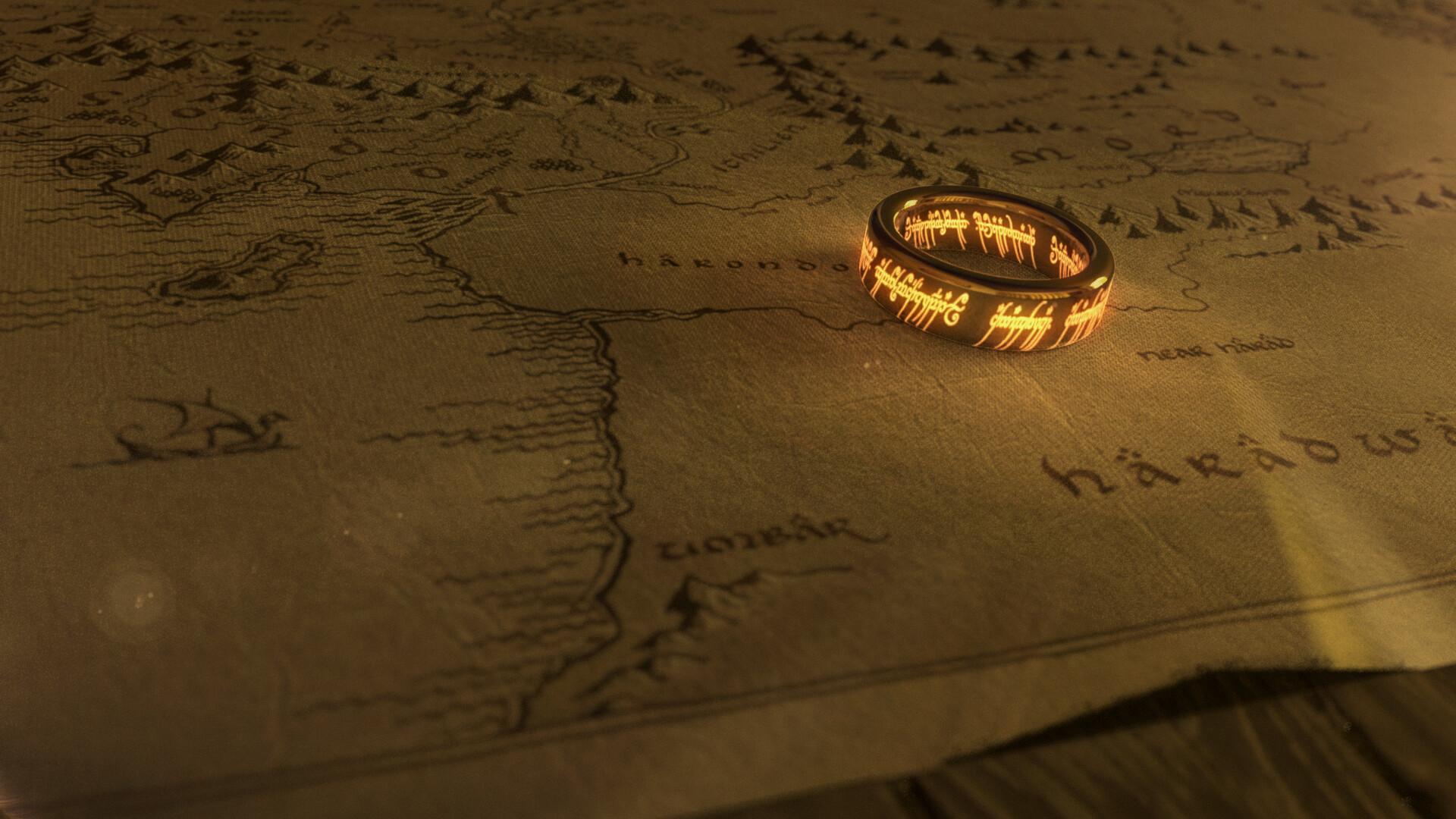 ArtStation - Lord of the Rings - Ring, Ruslan Agliullin
