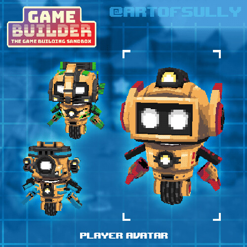 Player Avatar (asset for 'Game Builder')
