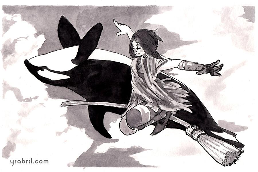 Yara abril 12 whale