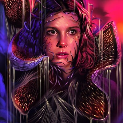 Yasar vurdem stranger things the demogorgon by vurdem ddbw8ch fullview