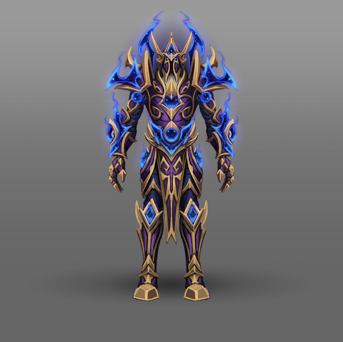 Arthur Lorenz Fan Art World Of Warcraft Racial Class Armor Design Voidelf Lightforged draenei, highmountain tauren you can use heirlooms and experience potions while leveling your allied race character and still receive your heritage armor. racial class armor design